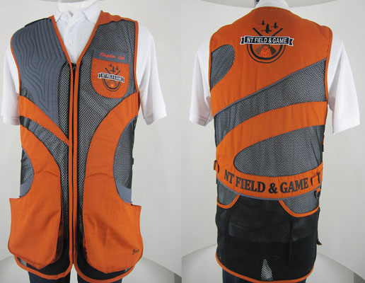BEST Smoke Style Clay Target Shooting Vest