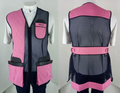 BEST Club Full Mesh Style Clay Target Shooting Vest