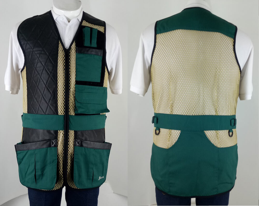 BEST Statesman Style Clay Target Shooting Vest