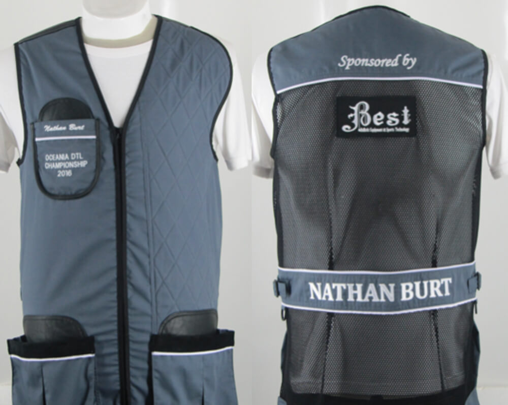 BEST Club Style Clay Target Shooting Vest