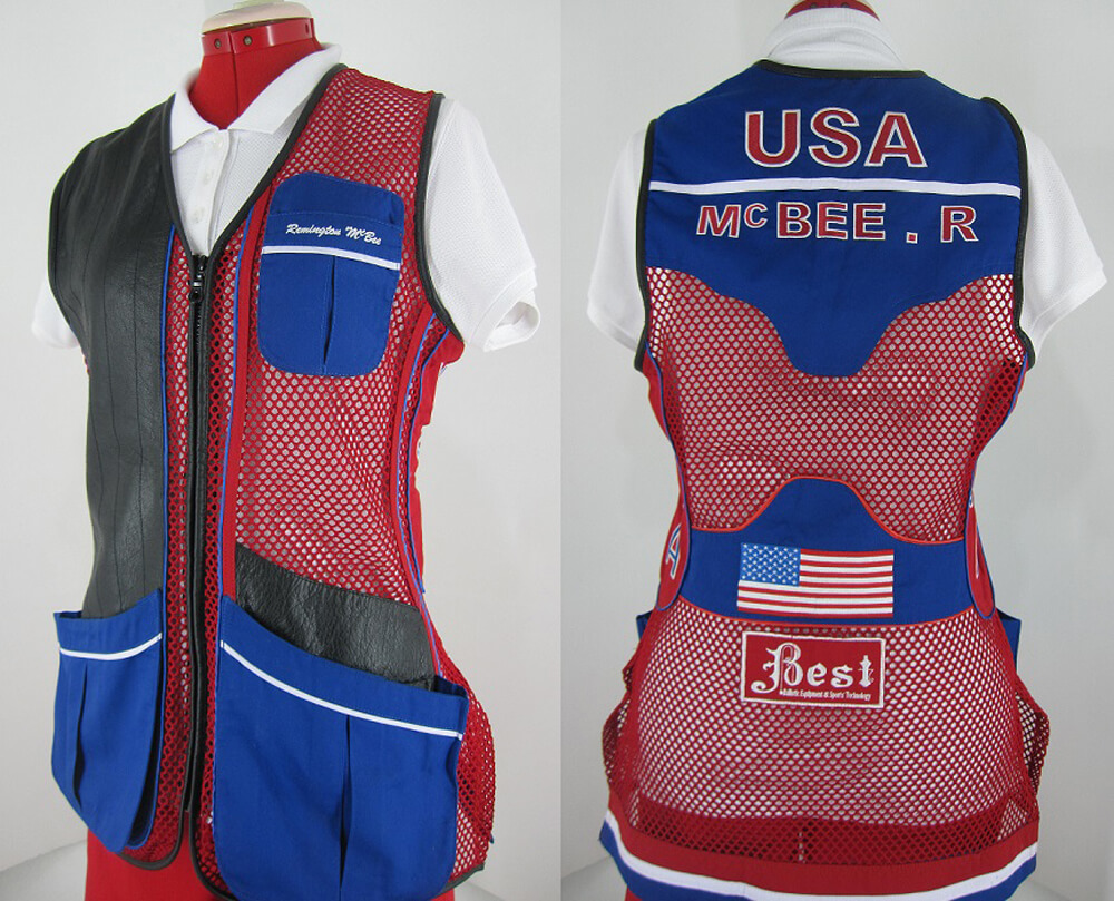 BEST Remington Style Clay Target Shooting Vest