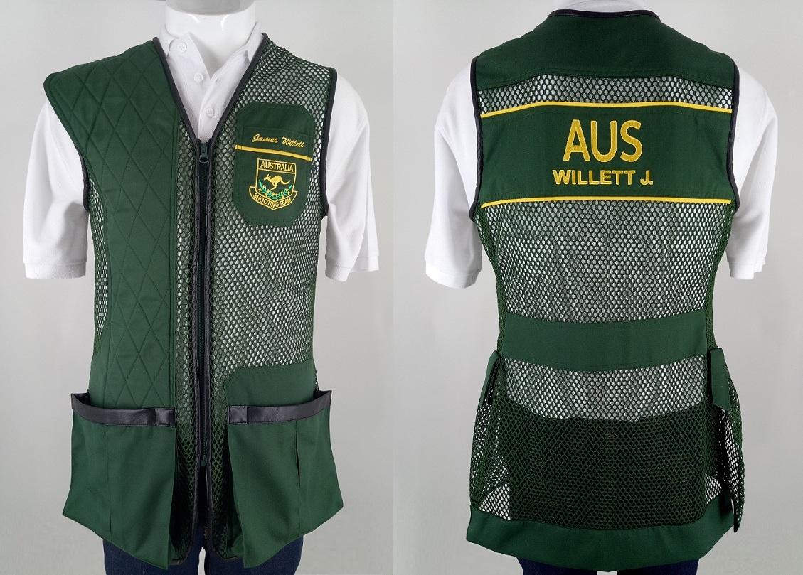 BEST, International Style, D Green ACTA Green, Yellow trim.